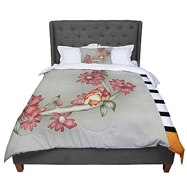 East Urban Home Carina Povarchik Feng Shui Comforter; Twin