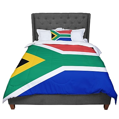 East Urban Home Bruce Stanfield South Africa II Comforter; Queen