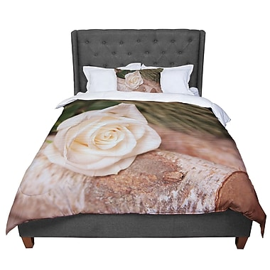 East Urban Home Angie Turner Rustic Romance Comforter; King