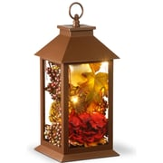 The Holiday Aisle Harvest Arrangement in LED Lamp w/ Hanging