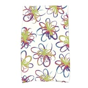 East Urban Home Floral Hand Towel; Green