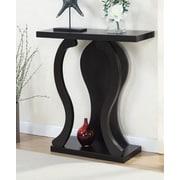 Ebern Designs Hubbard Wavy Console Table