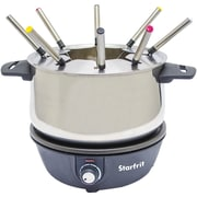 Starfrit 3.17 qt. Electric Stainless Steel Fondue Pot
