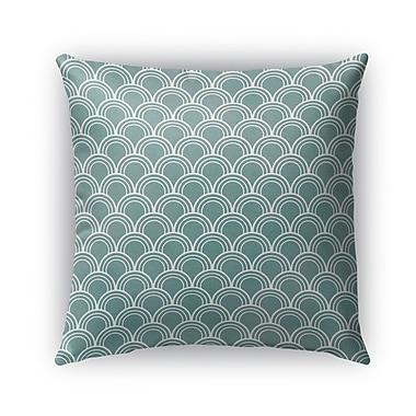 Brayden Studio Stalvey Square Indoor/Outdoor Throw Pillow; 16'' x 16''