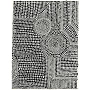 Brayden Studio 'Clustered Dots A' Graphic Art Print on Wrapped Canvas