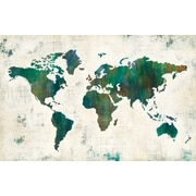 Brayden Studio 'Discover the World' Print on Wrapped Canvas