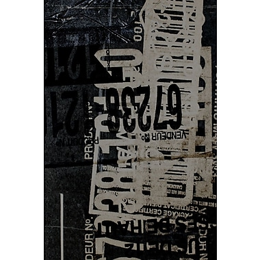 Brayden Studio 'Greek to Me I' Graphic Art Print on Wrapped Canvas