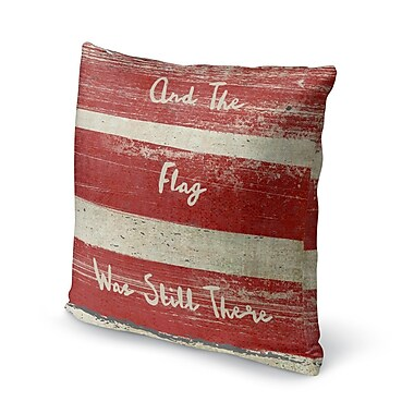 August Grove Tonya Square Accent Throw Pillow; 18'' x 18''
