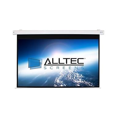 ACSS Matte White Electric Projection Screen; 45'' H x 80'' W