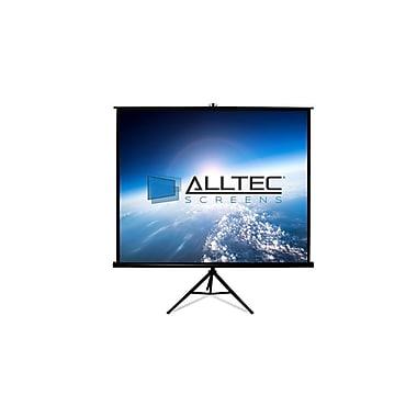 ACSS Tripod Matte White Portable Projection Screen; 96'' H x 96'' W
