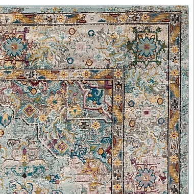Bungalow Rose Andy Beige Area Rug; Round 6'5''