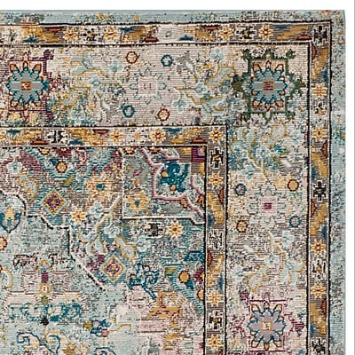 Bungalow Rose Andy Beige Area Rug; Square 6'5''