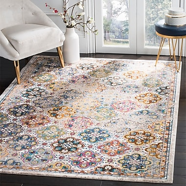 Bungalow Rose Andy Beige Area Rug; 8' x 10'