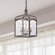 Darby Home Co Baddock 4-Light Lantern Pendant