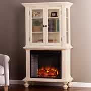 Highland Dunes Vernia Curio Electric Fireplace