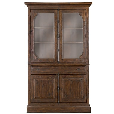 One Allium Way Amandier Traditional Standard China Cabinet Top