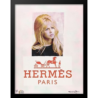 Mercer41 'Bardot' Framed Graphic Art Print