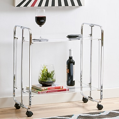 Latitude Run Ema Bar Cart