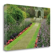 Red Barrel Studio 'Not So Secret Garden' Photographic Print on Wrapped Canvas; 26'' H x 39'' W