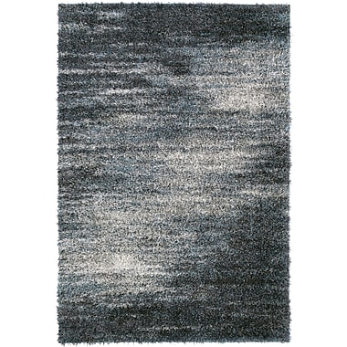 17 Stories Zhora Charcoal Area Rug; 9'6'' x 13'2''