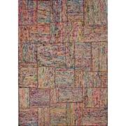 Winston Porter Hatfield Recycled Multi Textured Area Rug; 5' x 8'