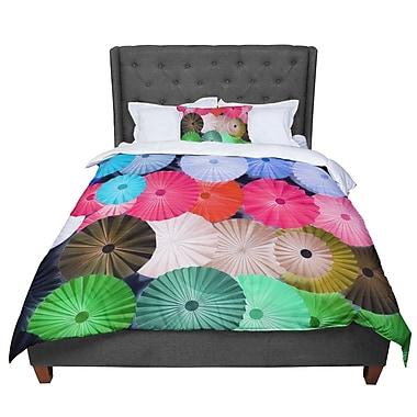 East Urban Home Heidi Jennings Parasol Paper Circle Comforter; Twin