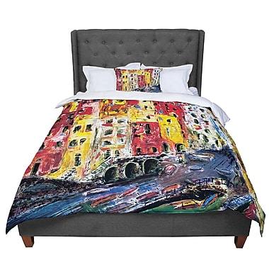 East Urban Home Josh Serafin Cinque Terre Comforter; Twin