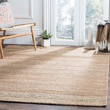 Highland Dunes Abia Hand-Woven Brown Area Rug; Rectangle 8' x 10'