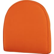 Highland Dunes Lounge Outdoor Chair Cushion; Orange