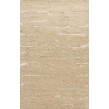 Highland Dunes Bonaparte Hand-Tufted Beige Area Rug; 7'6'' x 9'6''