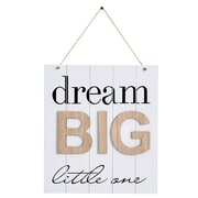 Ebern Designs Dream Big Little One Wall Decor