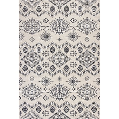 Union Rustic Kaylin Ivory/Gray Area Rug; 7'10'' x 11'2''