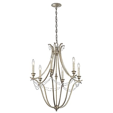 Astoria Grand Cleaton 6-Light Candle-Style Chandelier
