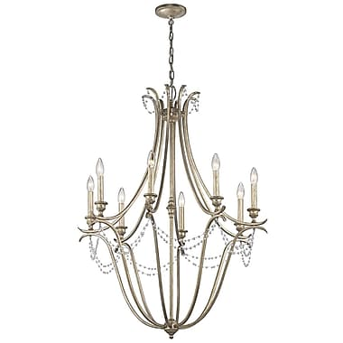 Astoria Grand Cleaton 8-Light Candle-Style Chandelier