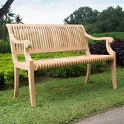 Darby Home Co Balster Teak Garden Bench
