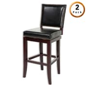 Darby Home Co Porter 26'' Swivel Bar Stool w/ Cushion (Set of 2)