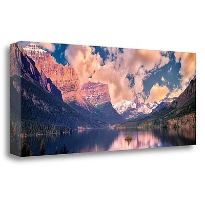 Loon Peak 'Mountain Air' Photographic Print on Wrapped Canvas; 14'' H x 34'' W