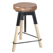 17 Stories Daksh 25'' Adjustable Height Swivel Bar Stool