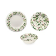 The Holiday Aisle Holly 12 Piece Dinnerware Set