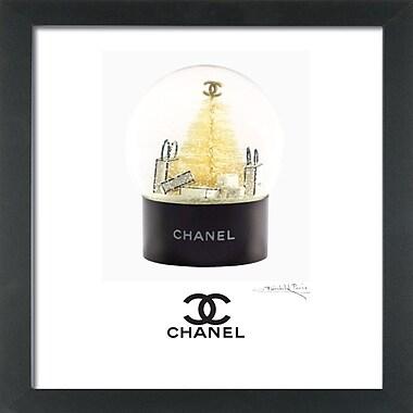 Mercer41 'Chanel Holiday' Framed Graphic Art Print
