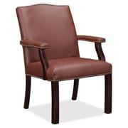 Alcott Hill Lucas Guest Chair; Burgundy