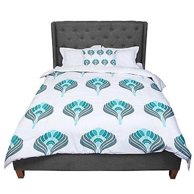 East Urban Home Peacock Comforter; Twin
