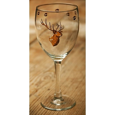 Loon Peak Brooks Elk 15 oz. All Purpose Wine Glass (Set of 4)