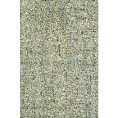Latitude Run Gilboa Hand-Tufted Wool Chambray Area Rug; 5' x 7'6''