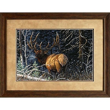 Loon Peak 'Legacy Bull' Framed Graphic Art Print