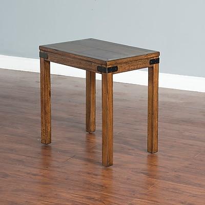 Loon Peak Jolicoeur Chair End Table