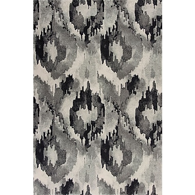 Varick Gallery Chesterfield Gray Area Rug; 7'10'' x11'2''