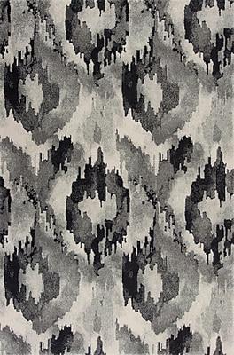 Varick Gallery Chesterfield Gray Area Rug; 9'10'' x 13'2''