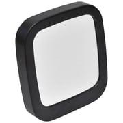 Evideco Make Up Square Mirror Defogger; Black