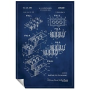 Successories 'Lego Patent' Wall Decal; 48'' H x 32'' W